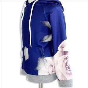 Shirts & Tops - New Baby,Girls, toddler Floral Hoodie Sweatshirt